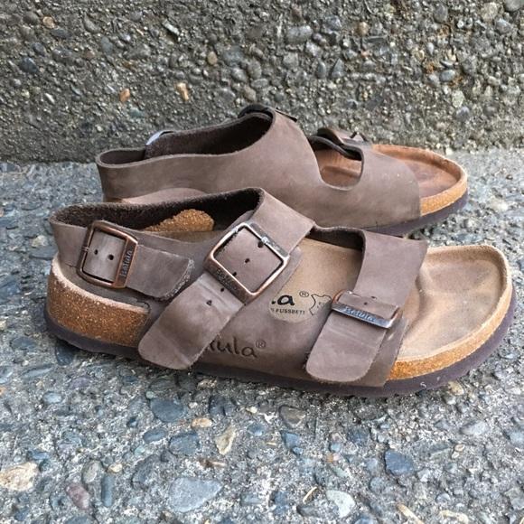 7dc20b50e4b Birkenstock Shoes - Birkenstock Betula Brown Back Strap Sandals